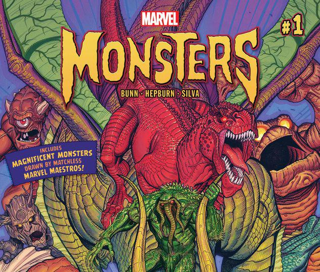 MARVEL MONSTERS 1 #1