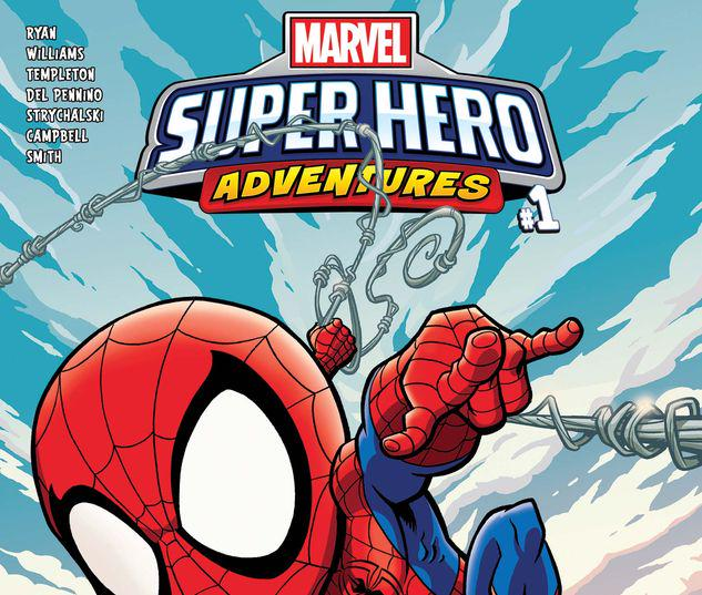 MARVEL SUPER HERO ADVENTURES: SPIDER-MAN - SPIDER-SENSE OF ADVENTURE 1 #1