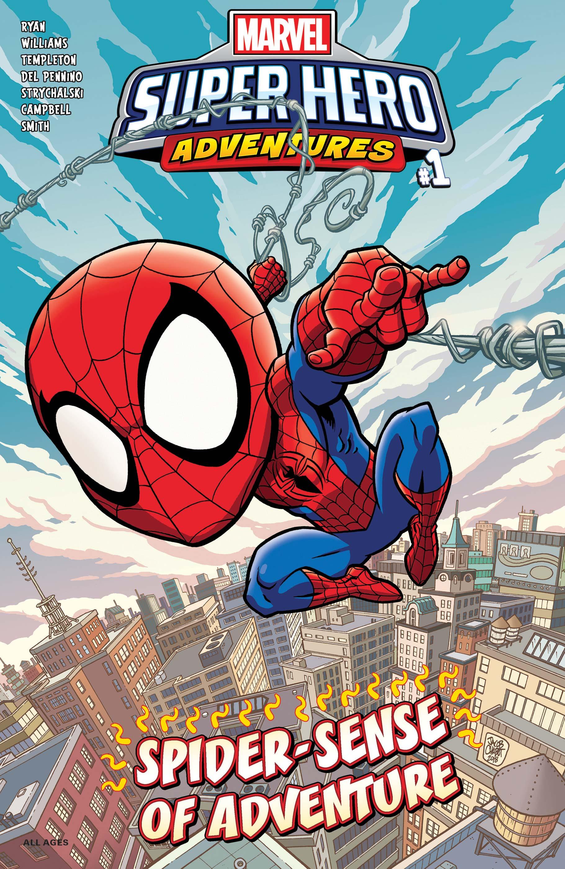 Marvel Super Hero Adventures: Spider-Man - Spider-Sense of Adventure (2019) #1