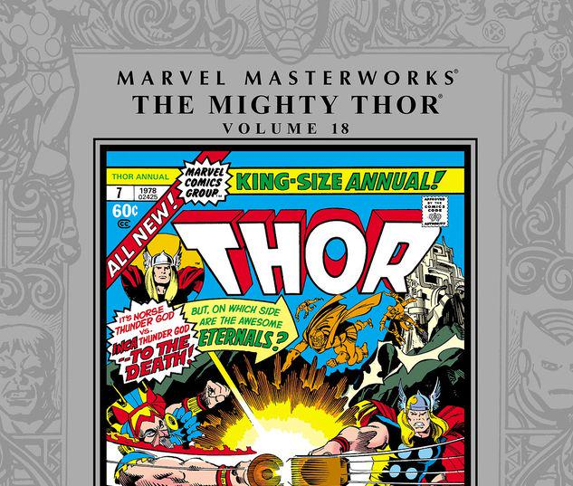 MARVEL MASTERWORKS: THE MIGHTY THOR VOL. 18 HC #18