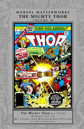 Marvel Masterworks: The Mighty Thor Vol. 18 (Hardcover)