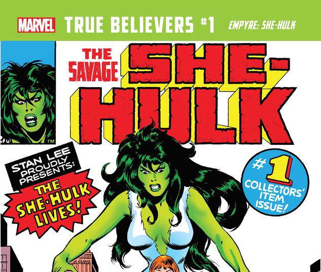 TRUE BELIEVERS: EMPYRE - SHE-HULK 1 #1