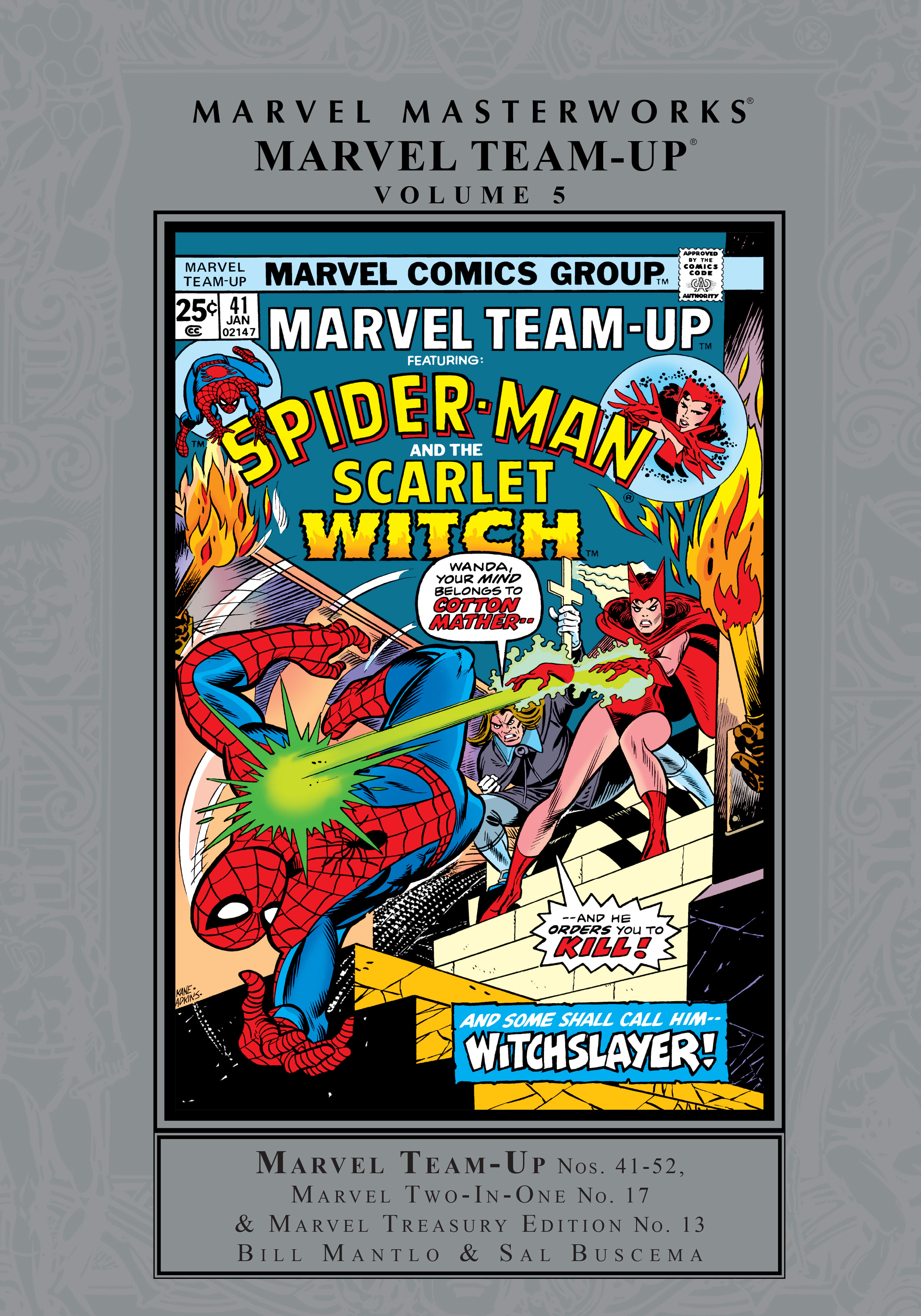 MARVEL MASTERWORKS: MARVEL TEAM-UP VOL. 5 HC (Hardcover)