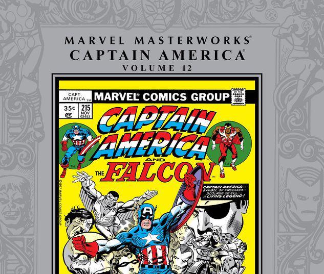 MARVEL MASTERWORKS: CAPTAIN AMERICA VOL. 12 HC #12
