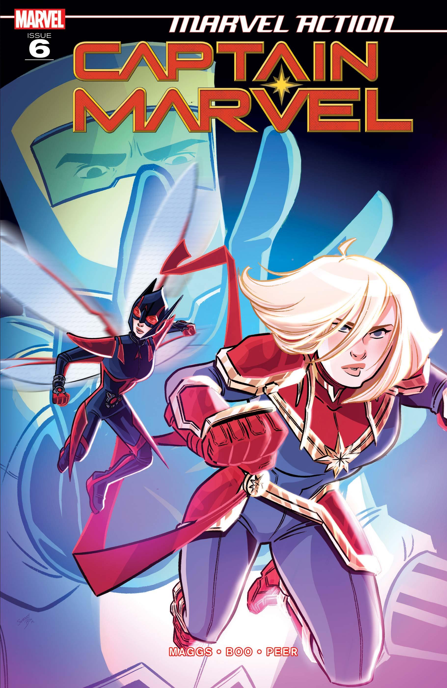 Marvel Action Captain Marvel (2019) #6