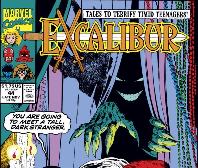 Excalibur (1988) #44 Cover
