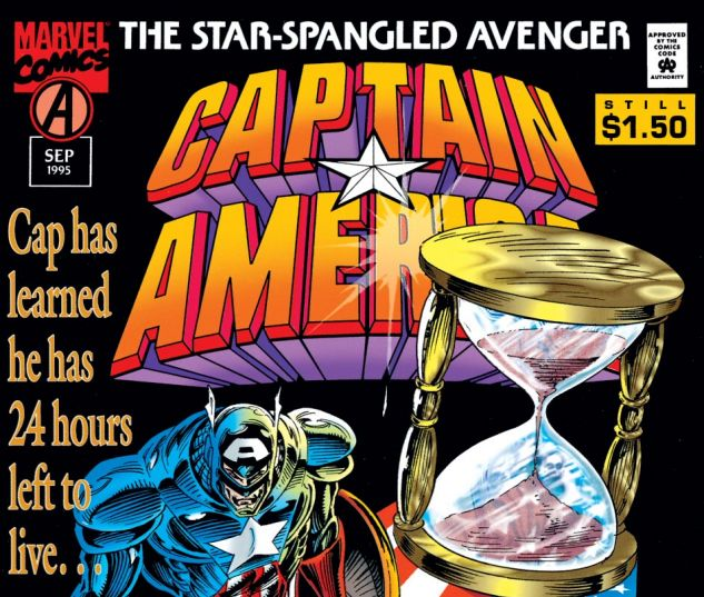 Captain America (1968) #443 Cover