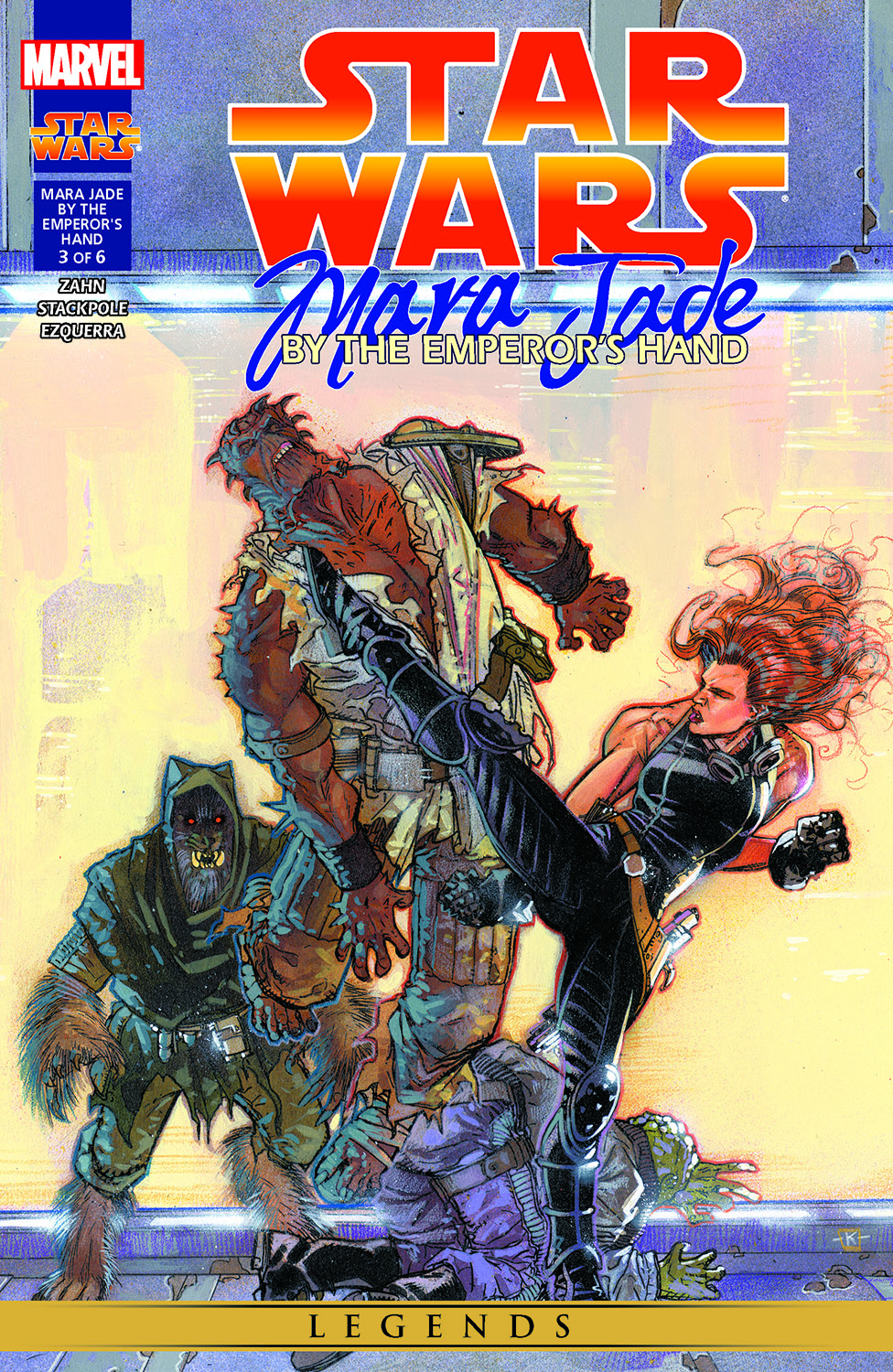 Star Wars: Mara Jade - By The Emperor'S Hand (1998) #3