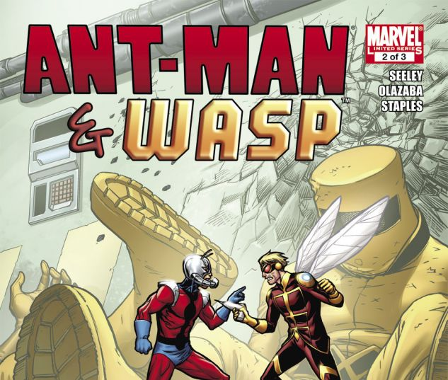 ANT-MAN & THE WASP (2010) #2 Cover