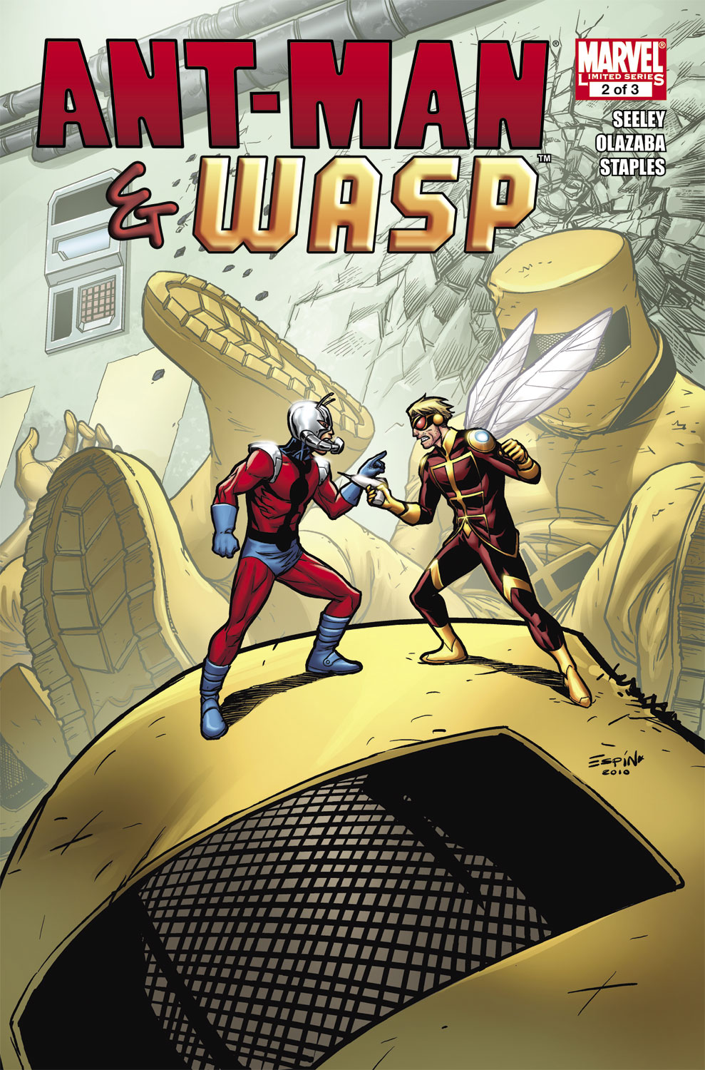 Ant-Man & the Wasp (2010) #2