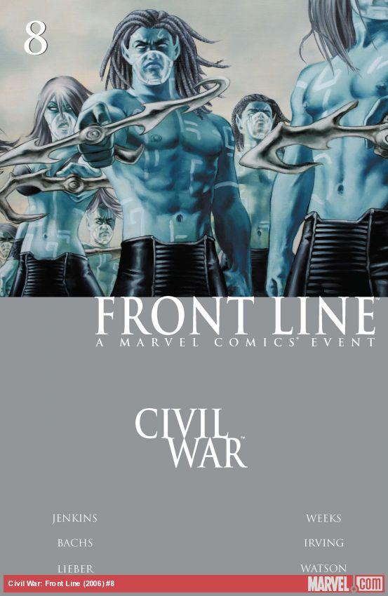Civil War: Front Line (2006) #8