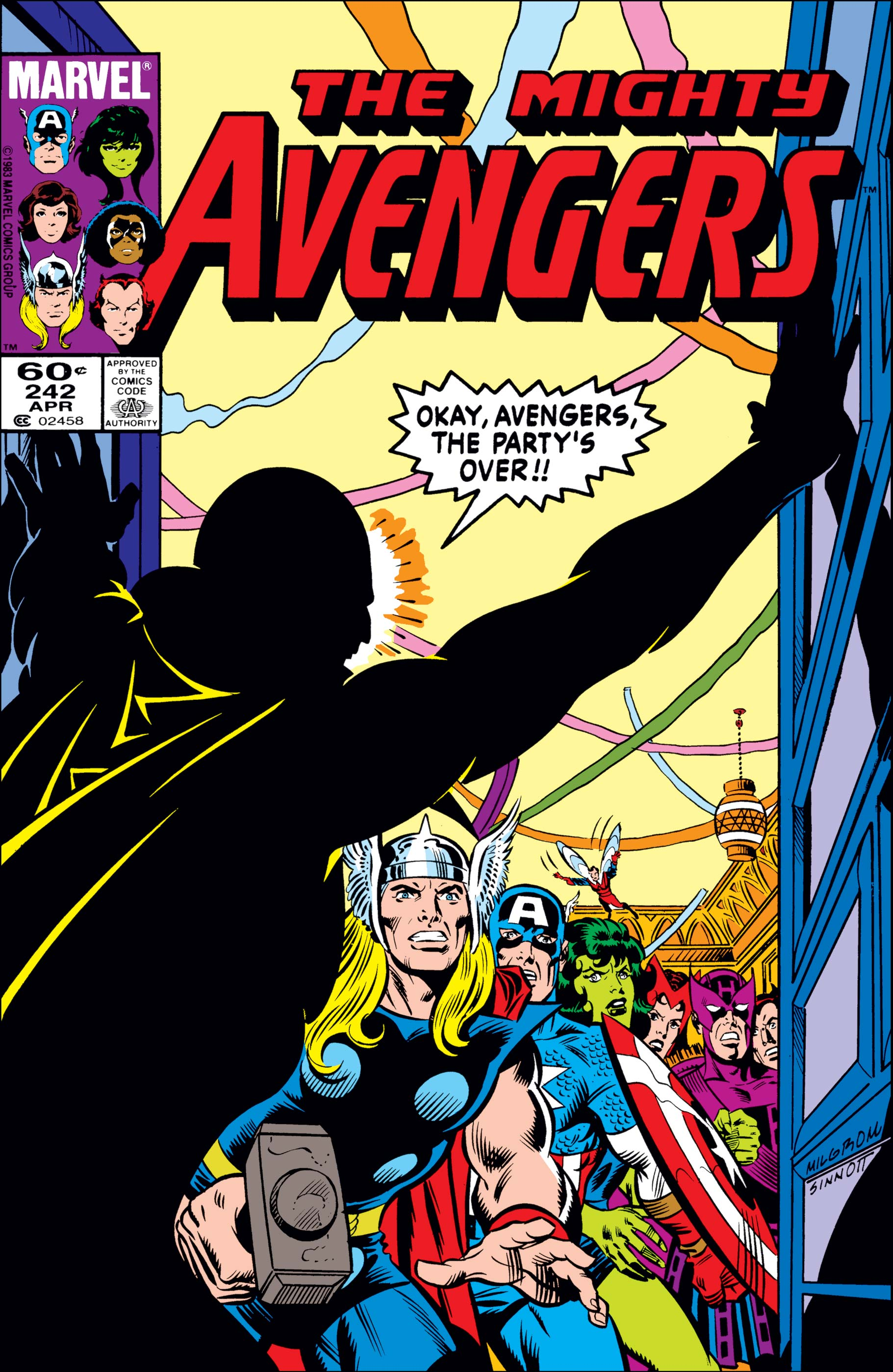 Avengers (1963) #242 | Comic Issues | Marvel
