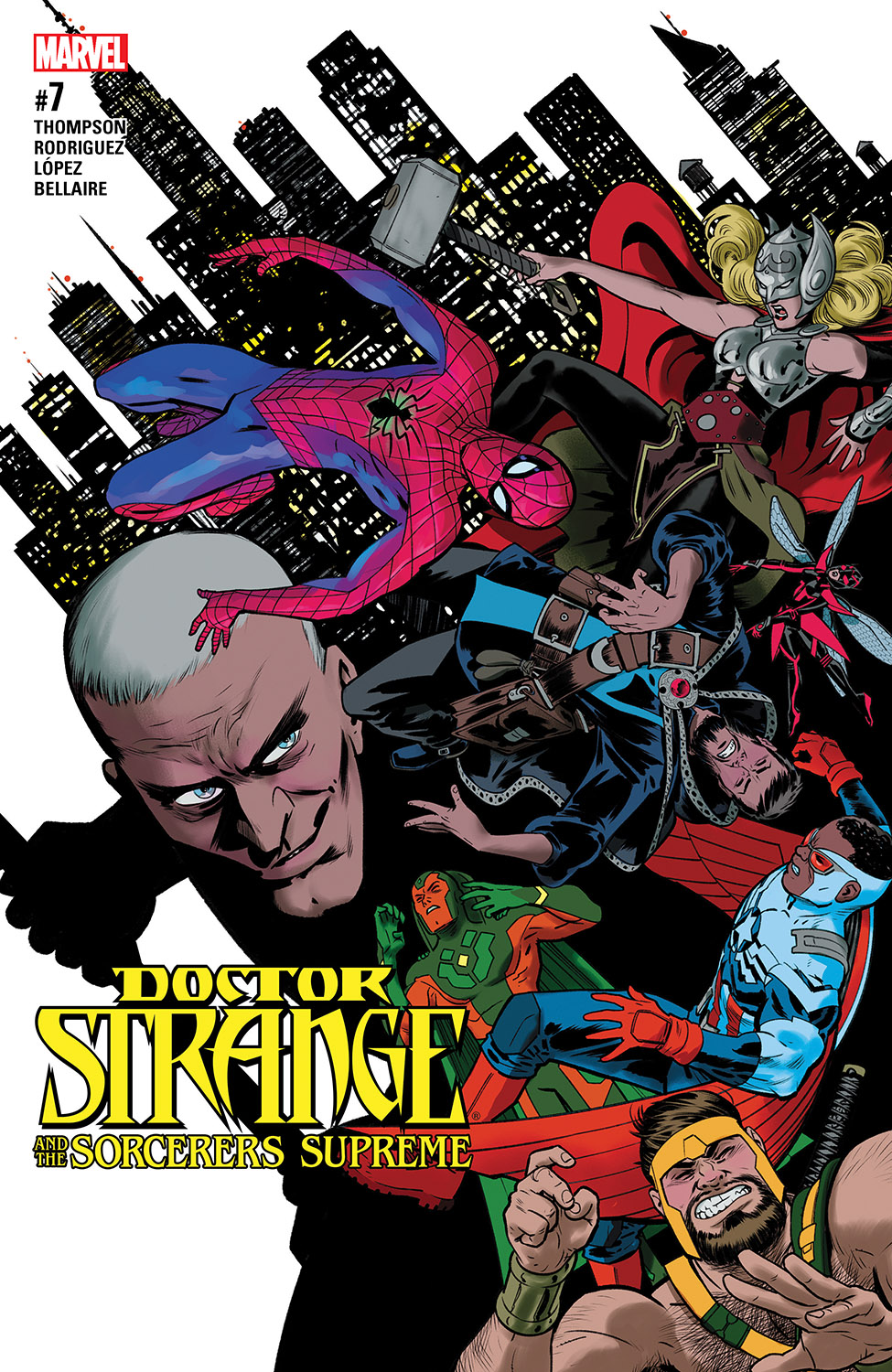 Doctor Strange And The Sorcerers Supreme (2016) #7