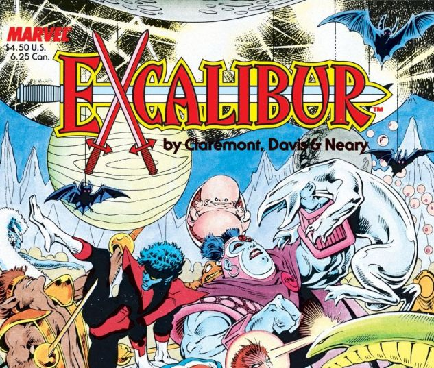 Excalibur The Sword is Drawn 0 cover