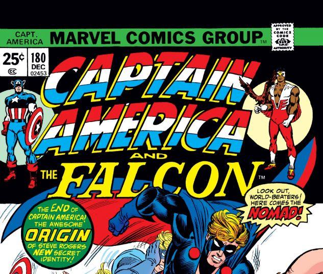 Captain America (1968) #180