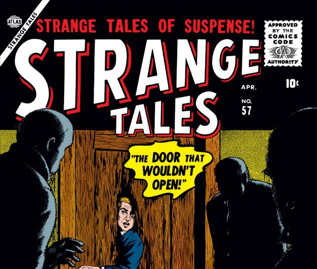 Cover for Strange Tales 57