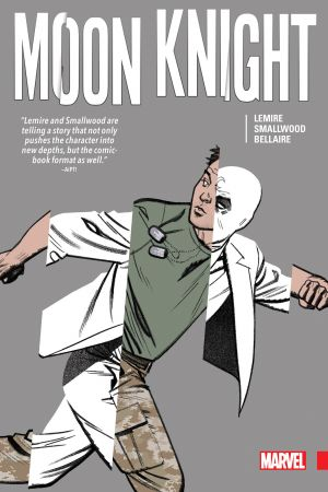 Moon Knight by Lemire & Smallwood (Hardcover)