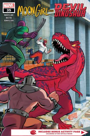 Moon Girl and Devil Dinosaur (2015) #35
