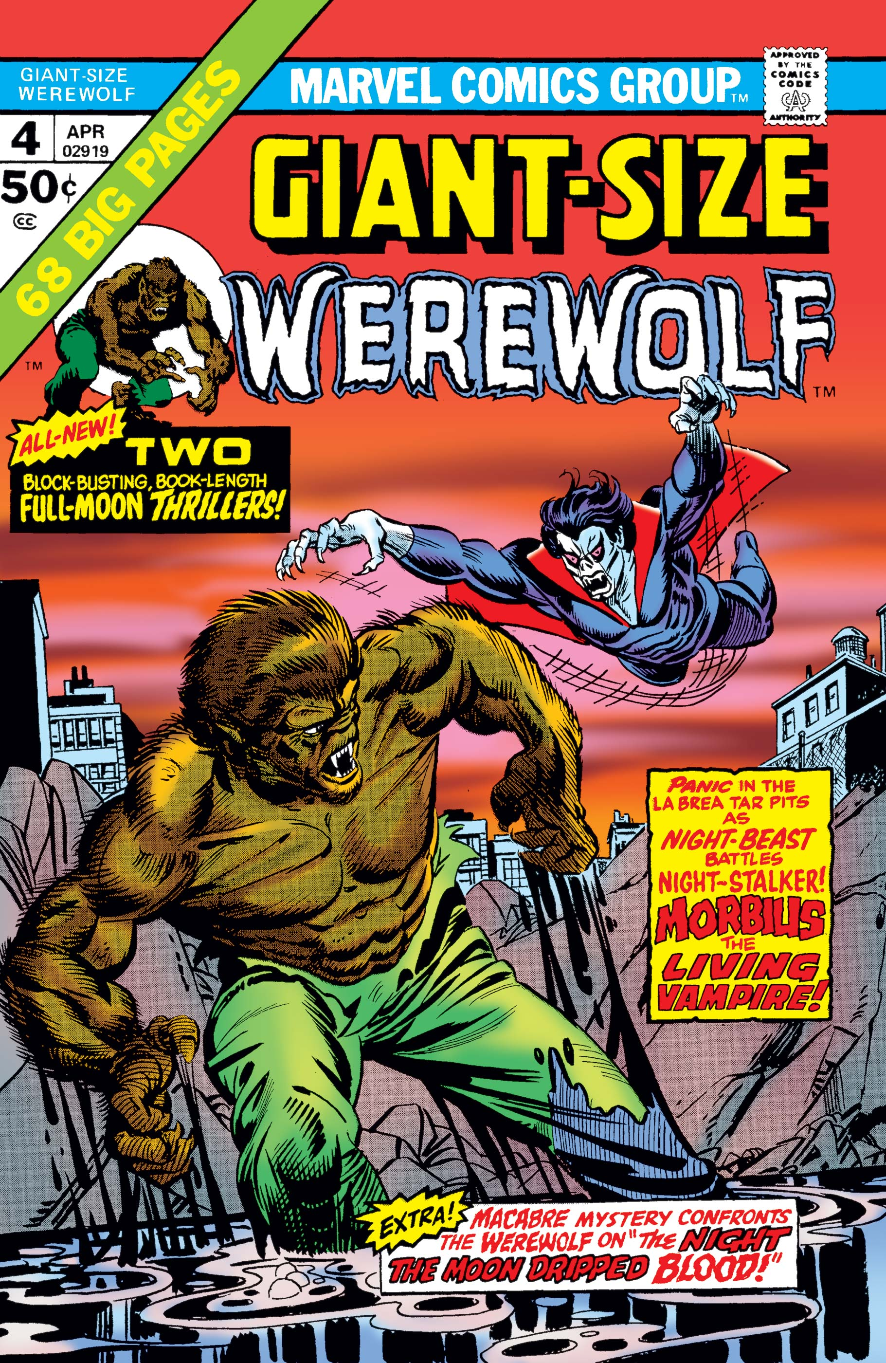 Giant-Size Werewolf by Night (1974) #4