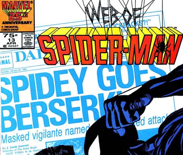 Web of Spider-Man (1985) #13