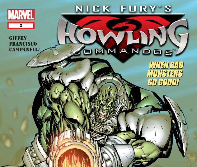 NICK FURY'S HOWLING COMMANDOS (2005) #2