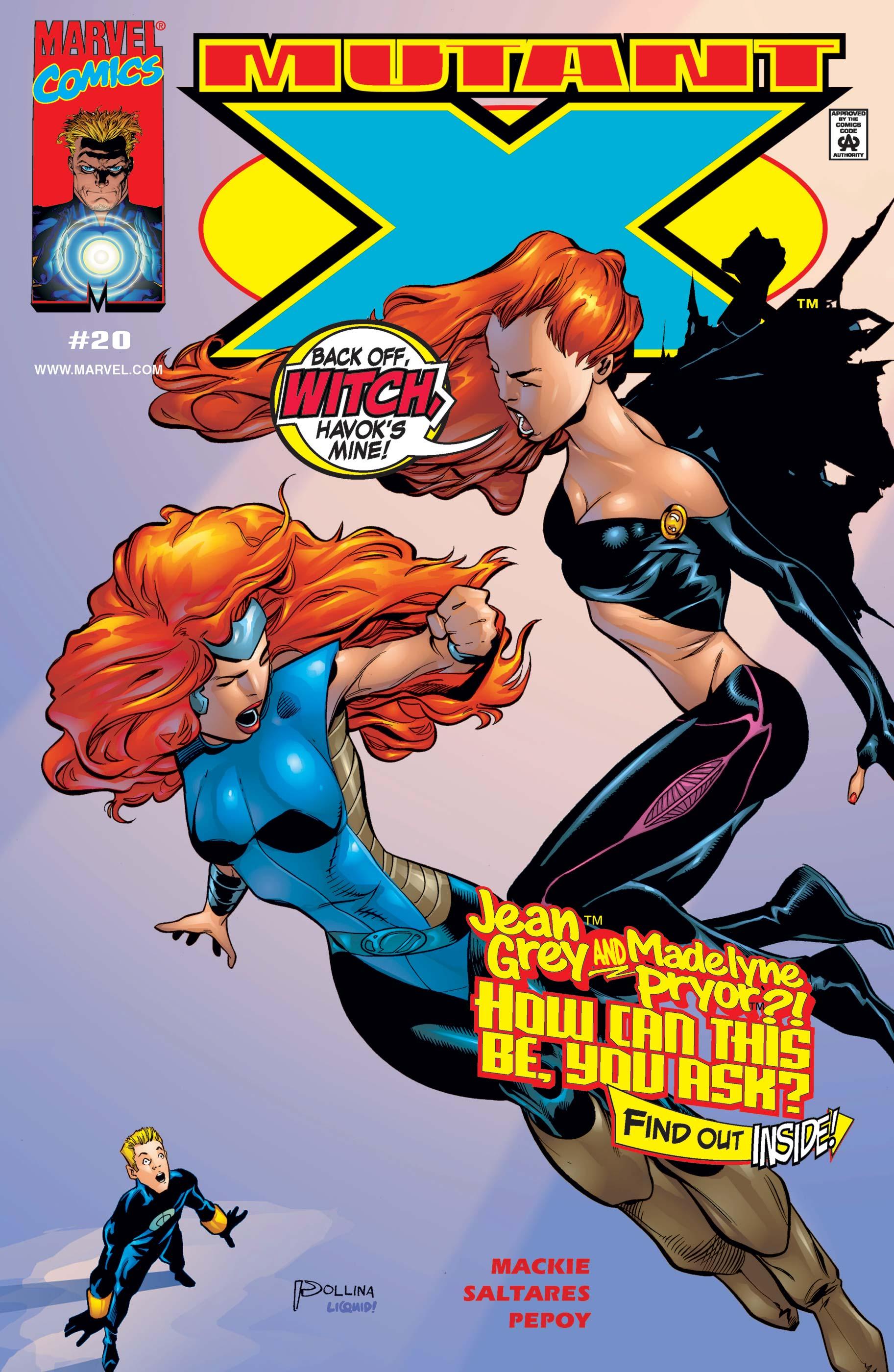 Mutant X (1998) #20