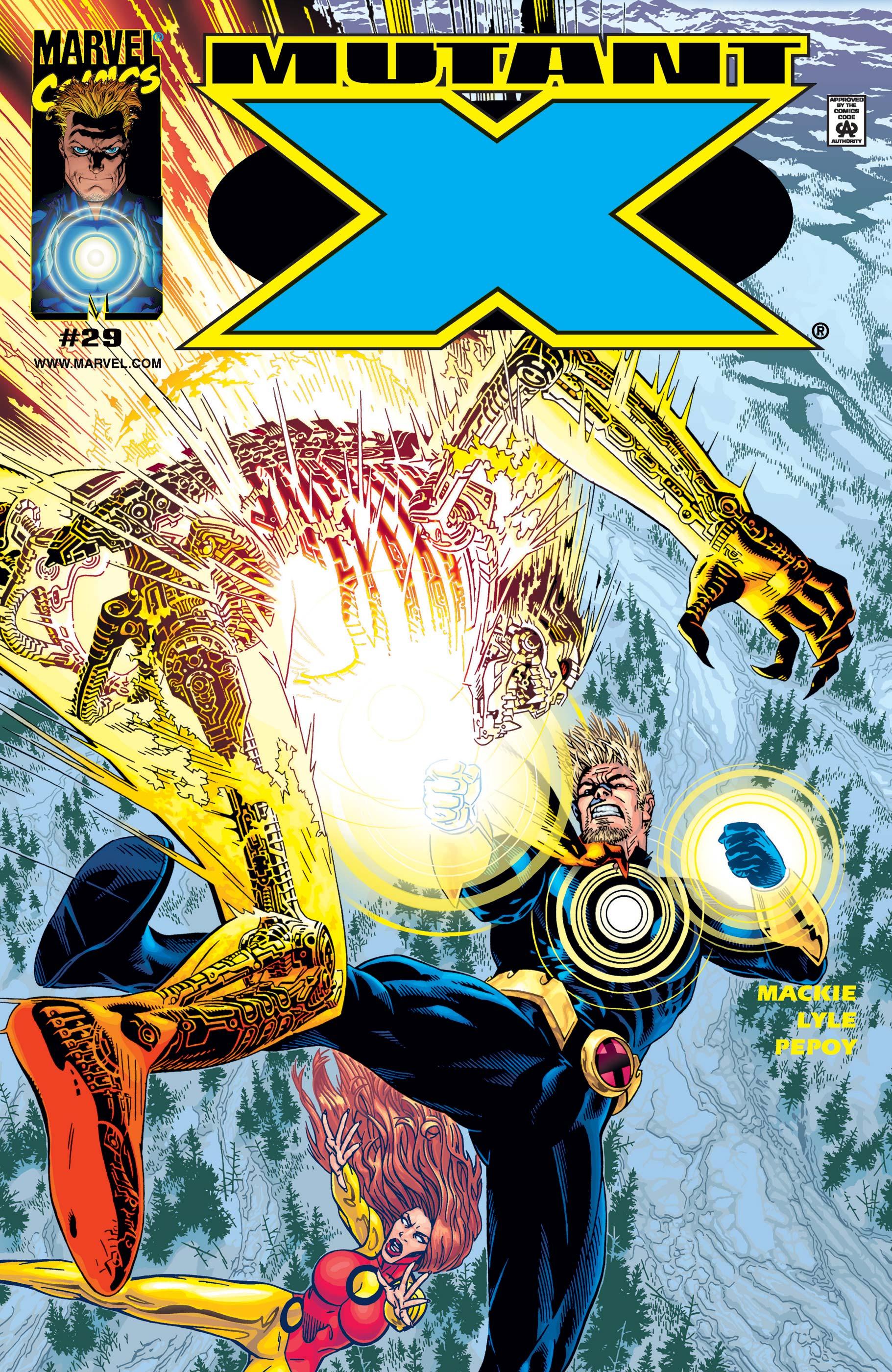 Mutant X (1998) #29
