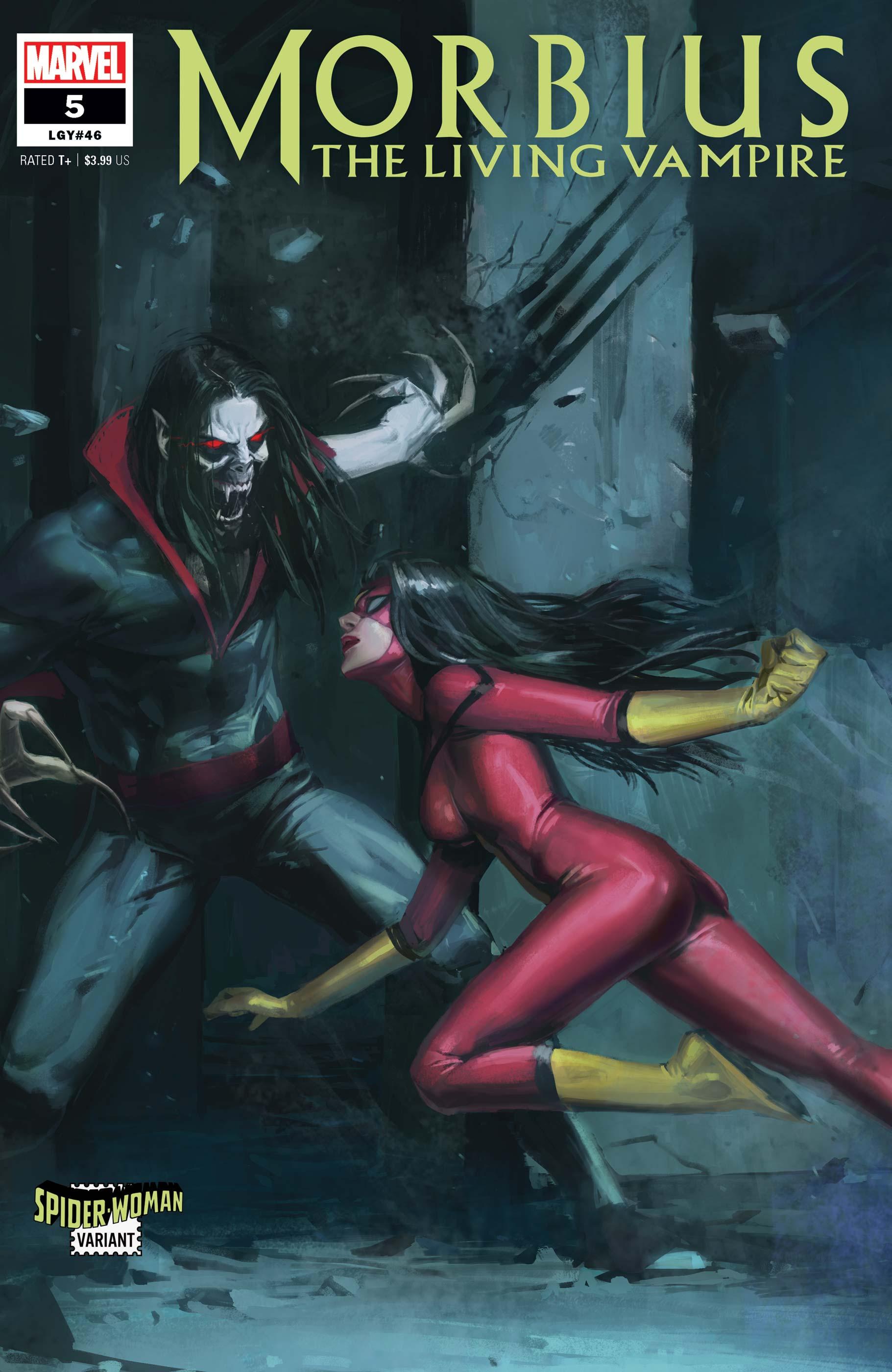 Morbius (2019) #5 (Variant)