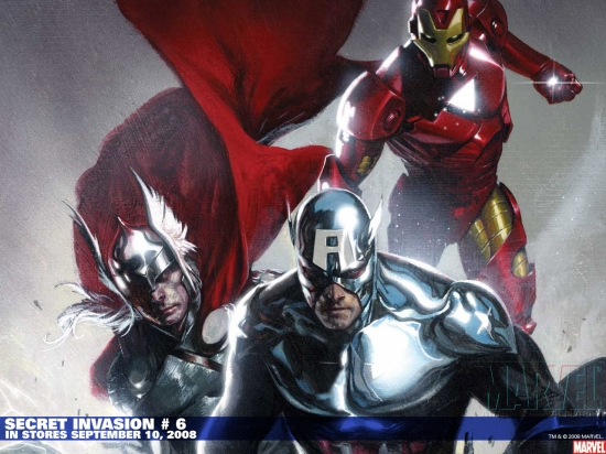 Secret Invasion (2008) #6 Wallpaper