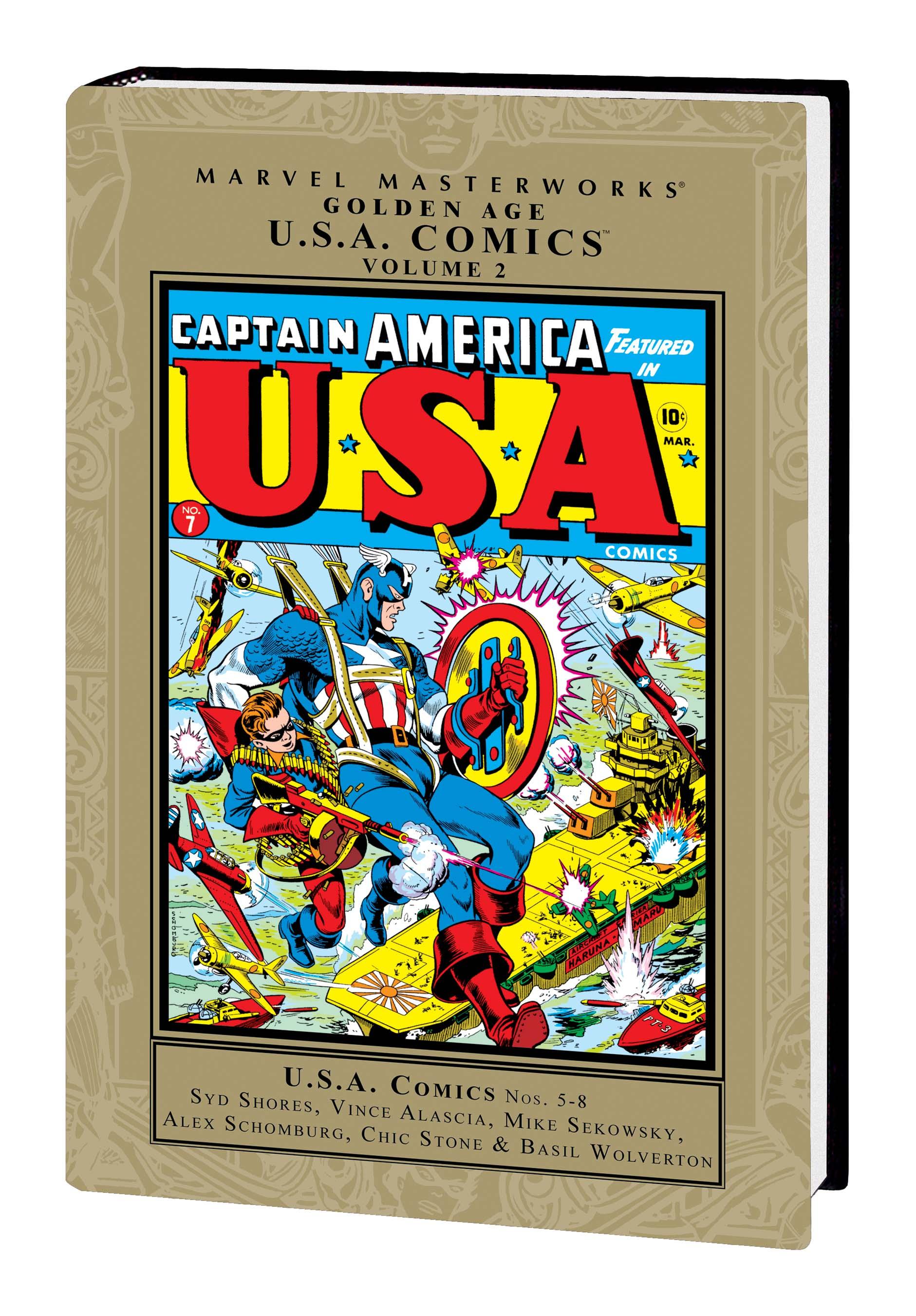 Marvel Masterworks: Golden Age Marvel Comics Vol. 6 (Hardcover)