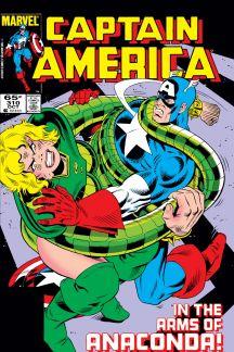 Captain America #310