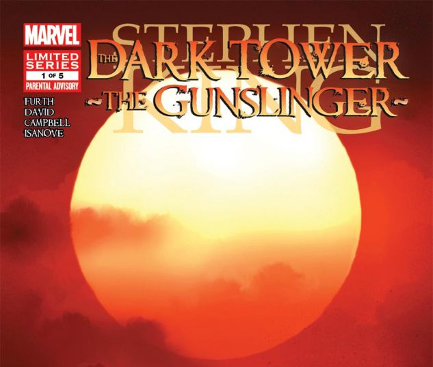 DARK TOWER: THE GUNSLINGER - THE WAY STATION (2013) #1 Cover