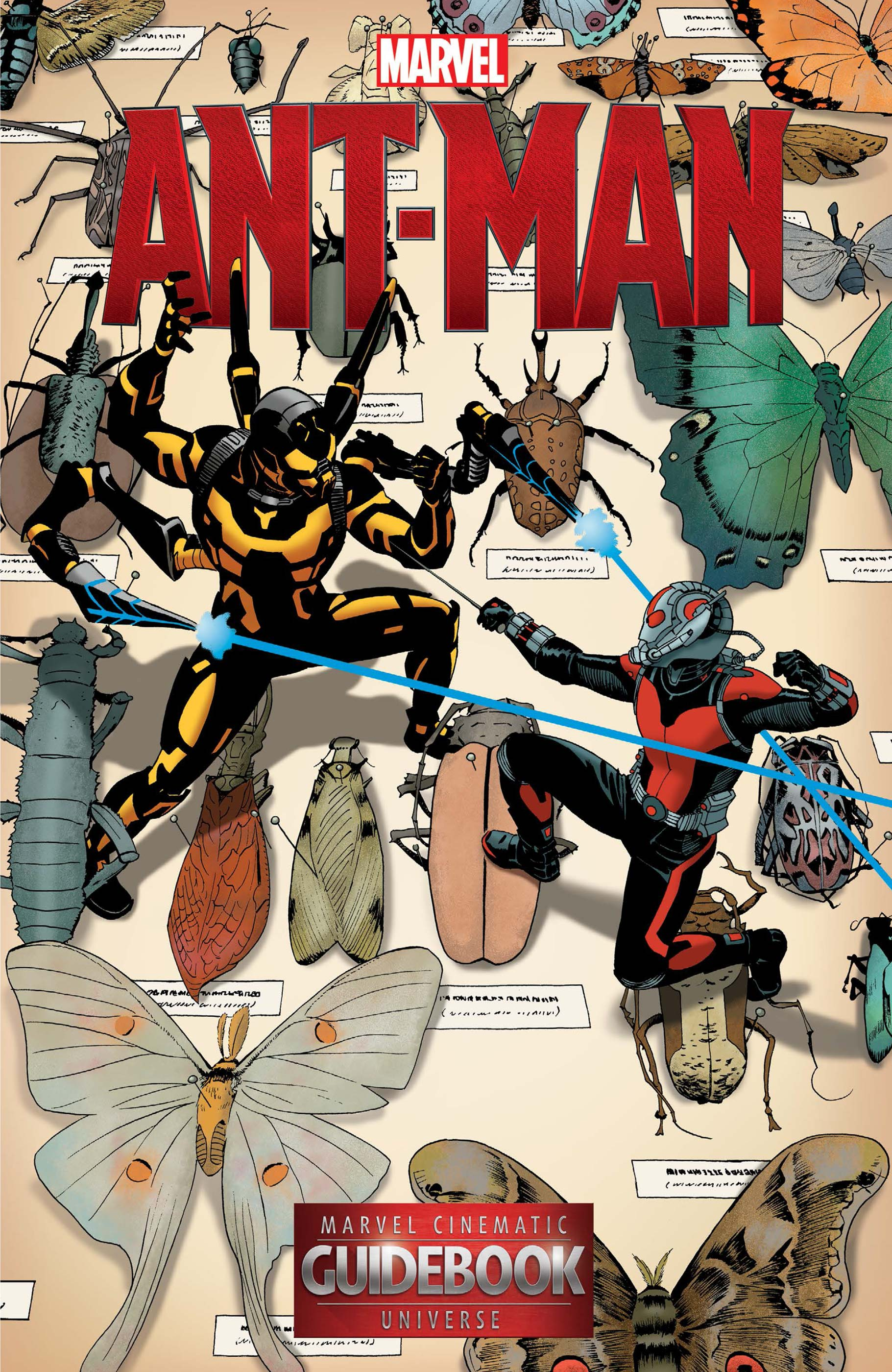 Guidebook to The Marvel Cinematic Universe - Marvel's Ant-Man (2016) #1