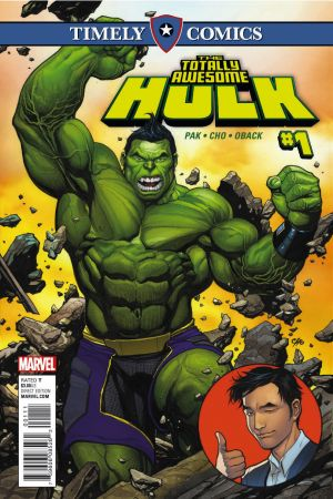 Timely Comics: The Totally Awesome Hulk (2016) #1