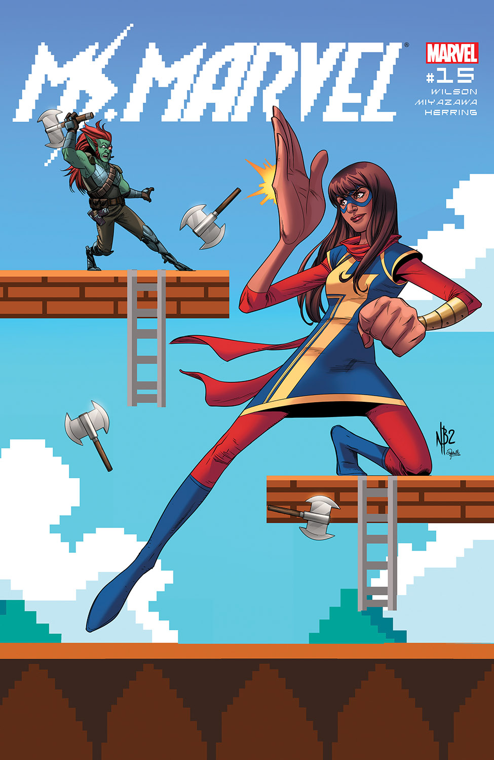 Ms. Marvel (2015) #15