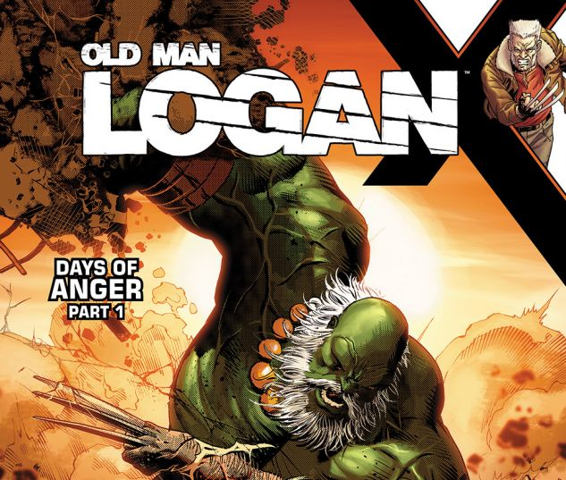 cover from Old Man Logan (2016) #25