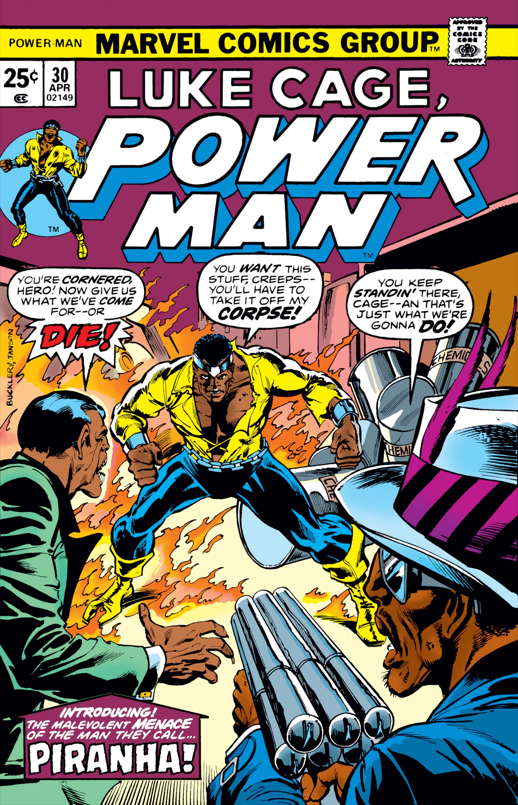 Power Man (1974) #30