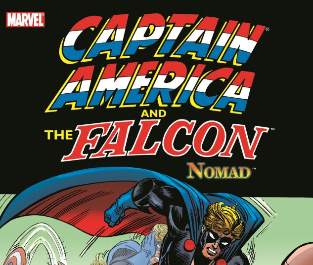 CAPTAIN AMERICA AND THE FALCON: NOMAD 0 cover