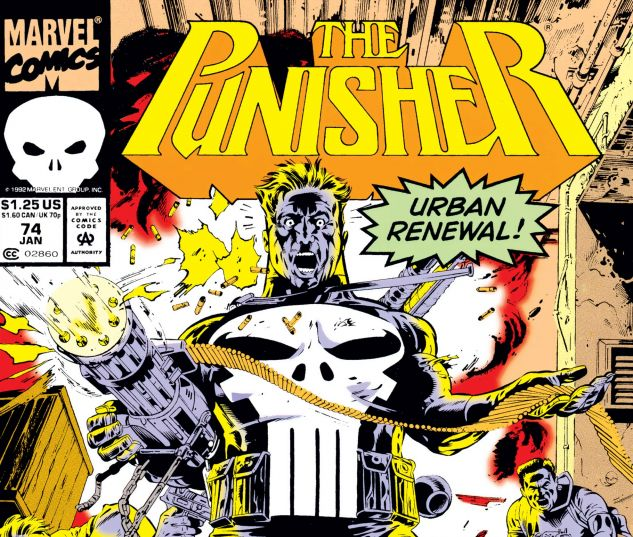 Cover for PUNISHER 74