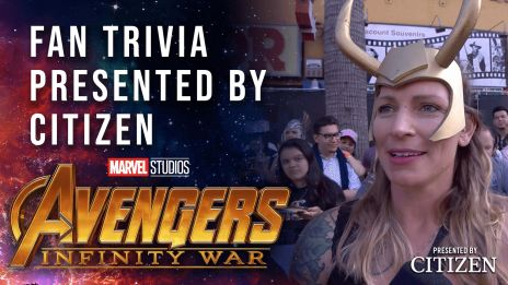 Fan Character Trivia Challenge at the Avengers:
