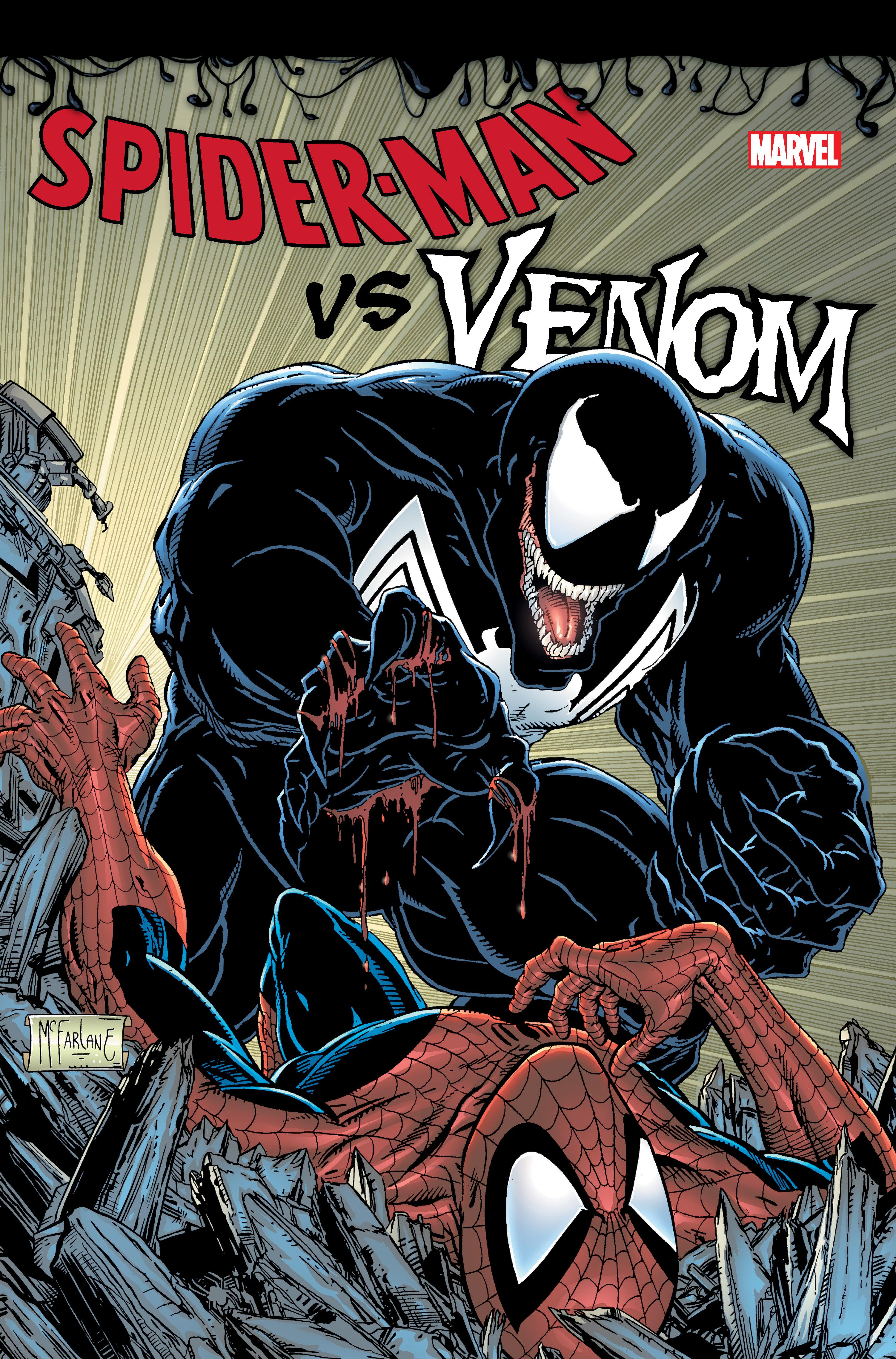 Spider-Man Vs. Venom Omnibus (Hardcover)
