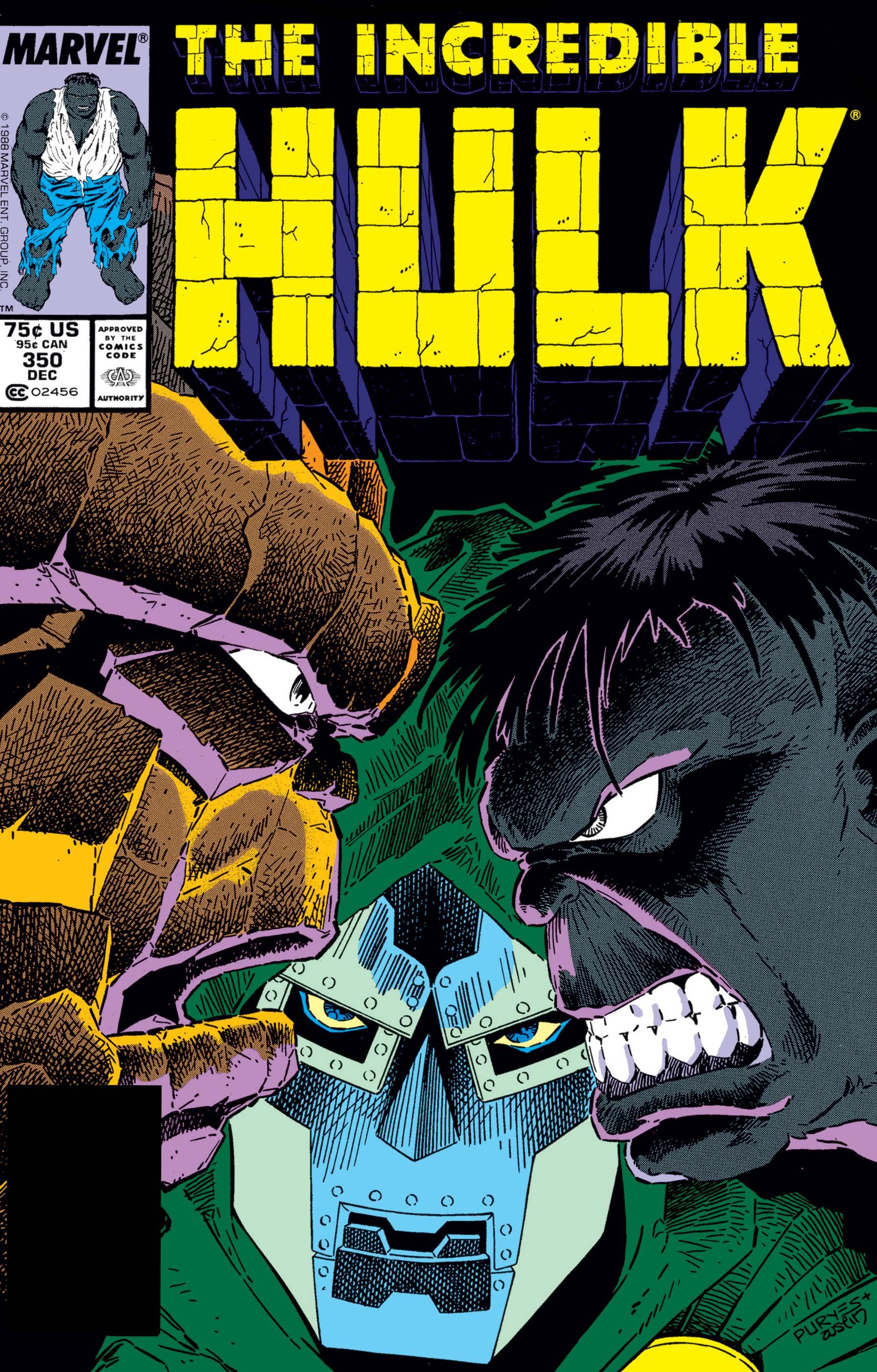 Incredible Hulk (1962) #350