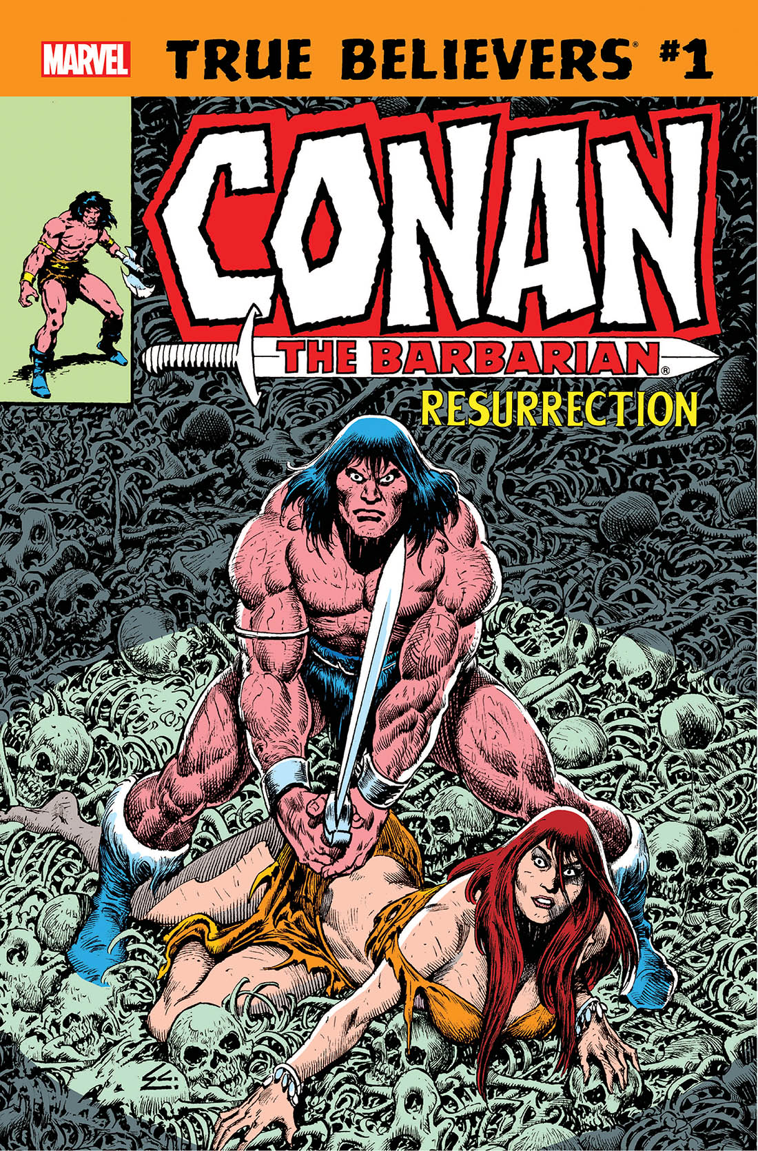 True Believers: Conan - Resurrection (2019) #1
