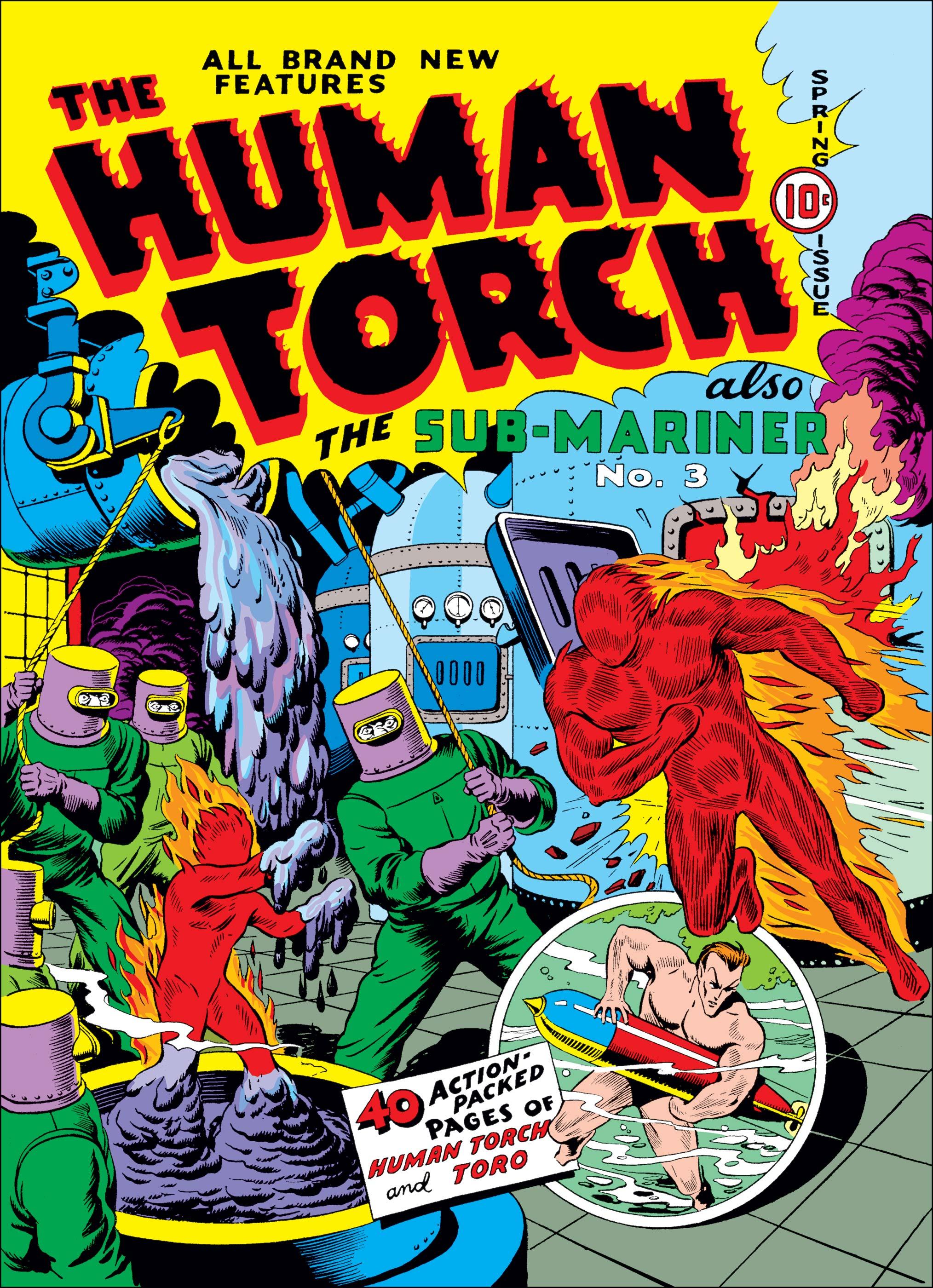 Human Torch Comics (1940) #4