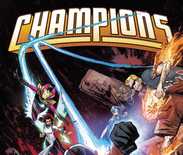 CHAMPIONS BY JIM ZUB VOL. 2: GIVE AND TAKE TPB #2