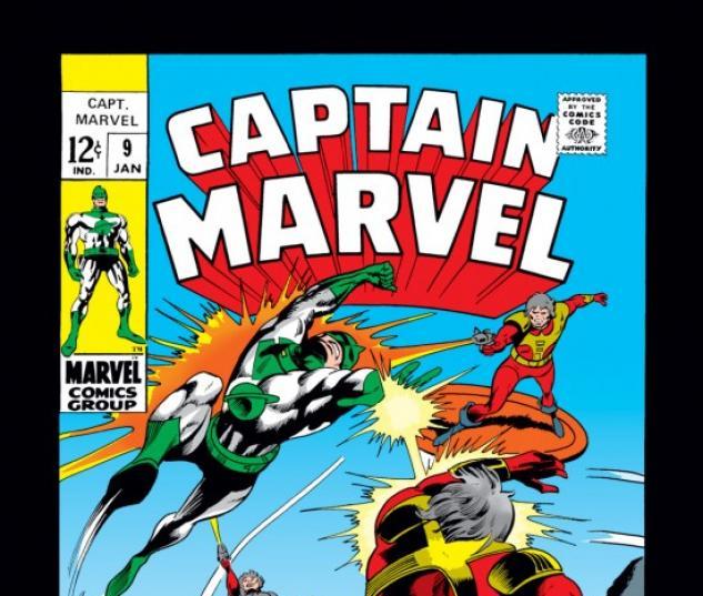 CAPTAIN MARVEL #9 COVER