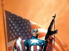 Ultimate Comics Captain America #1 cover Ron Garney