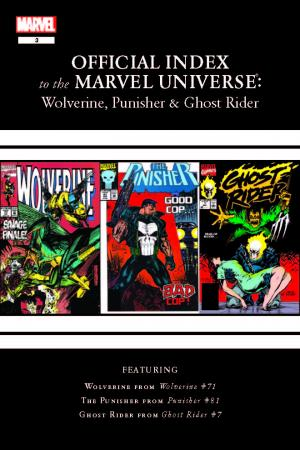 Wolverine, Punisher & Ghost Rider: Official Index to the Marvel Universe #3