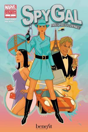 Spygal: Thrills, Frills & Espionage! (2012) #1