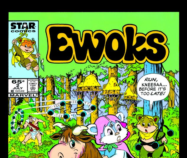 Star Wars: Ewoks (1985) #2